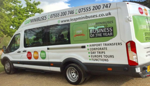 Corporate Hire – Leap Minibuses
